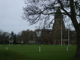 Rugby School, where Thomas Arnold and Henry Hayman were headmaster. | Photo by Benjamin Earl