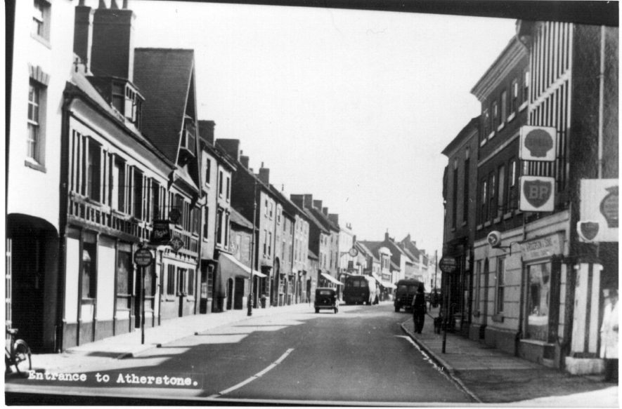 'Entrance to Atherstone'. F55 to C210 on the Atherstone House History project. | Image courtesy of The Friends of Atherstone Heritage, Marion Alexander.