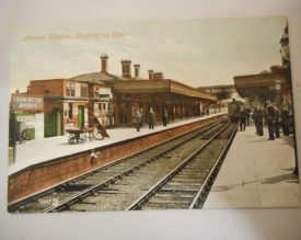 LNWR Avenue Station, Leamington Spa, in 1905. | Warwickshire County Record Office reference PH352/111/58