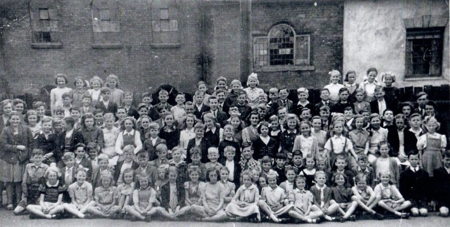 Nethersole School, Polesworth. 1948 | Image courtesy of Molly Spencer