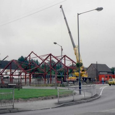 The new fire station being built. | Image courtesy of Denis Perry