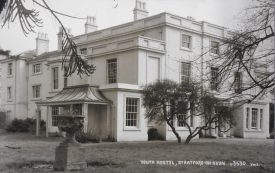 The youth hostel in Alvseston, in less wintry times! | Warwickshire County Record Office reference PH352/5/12