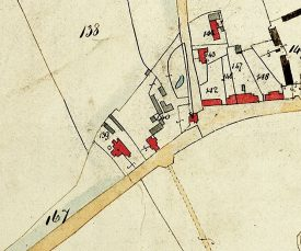 A map showing the Rose and Crown Public House, Arrow | Warwickshire County Record Office, CR 569/9