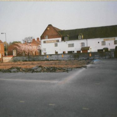 Site of the Chetwynd Arms | Image courtesy of Denis Perry