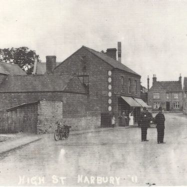Shops in Harbury in the Early 1900s