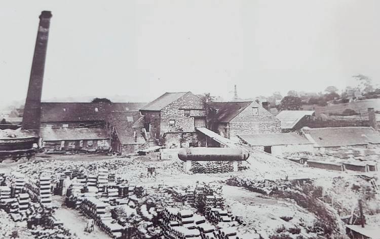 Polesworth brick yard.   Image courtesy of Neville Upton