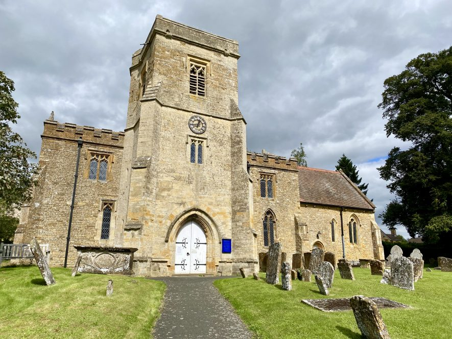 St Thomas a Becket Church. Sutton Under Brailes, 2020 | Image courtesy of Maurice MacSweeney