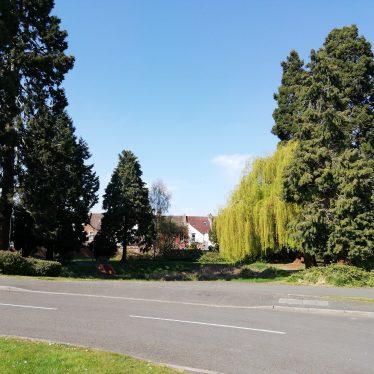 Midland Home garden, Tachbrook Street, Leamington Spa