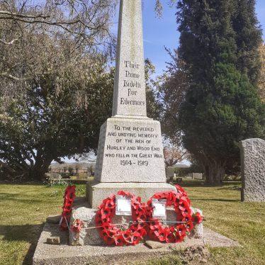 Hurley and Wood End War Memorial, Heanley Lane, Hurley, Warwickshire