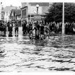 Photos of Nuneaton Floods, 1958