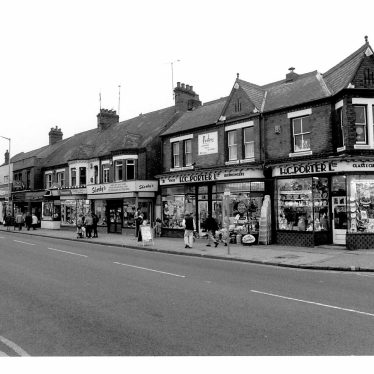 Porter's Shop, Nuneaton | Image courtesy of Sheila Price and Nuneaton Memories