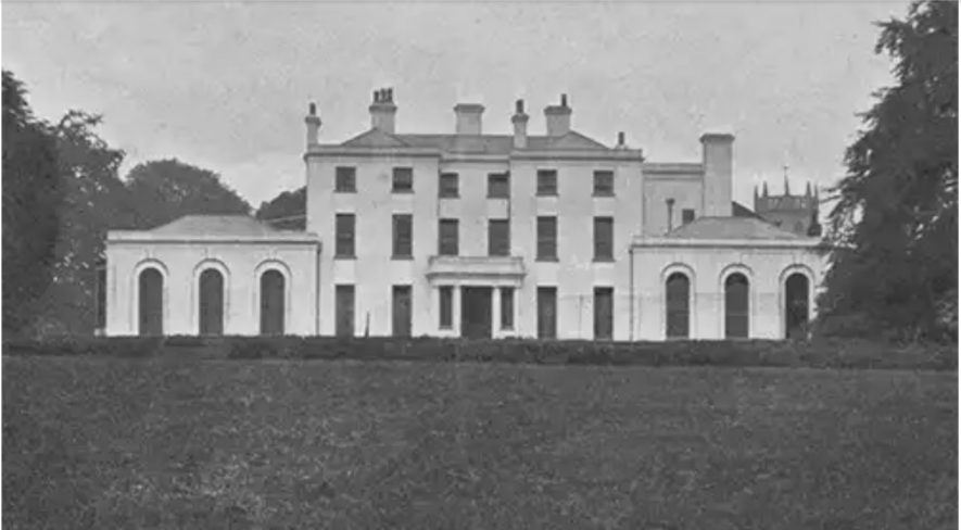 Atherstone Hall   Image supplied by David Kipping