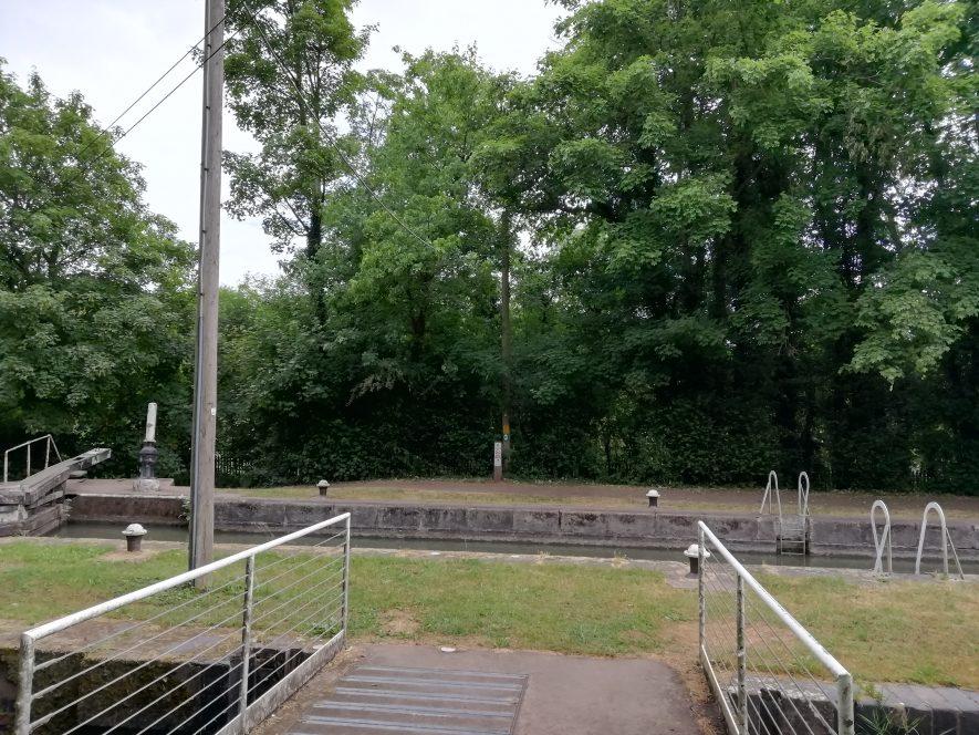 Canal locks | Image courtesy of Gary Stocker June 2020