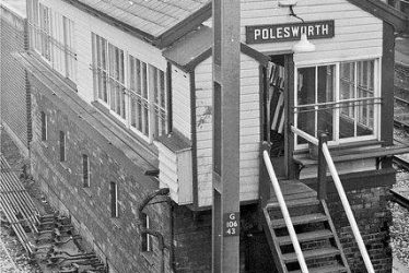 Polesworth.  Signal Box