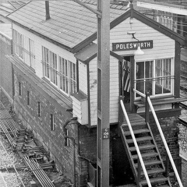 Polesworth signal box. | Image courtesy of Neville Upton