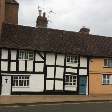Site of Stag's Head public house, 49 Rother street, Stratford upon Avon