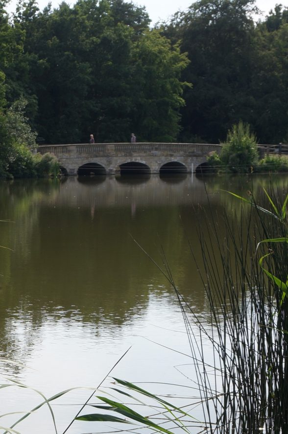 18th Century road bridge at Compton Verney House, 2018. | Image courtesy of Philip Bevan