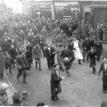 Atherstone Ball Game | Image courtesy of Friends of Atherstone Heritage