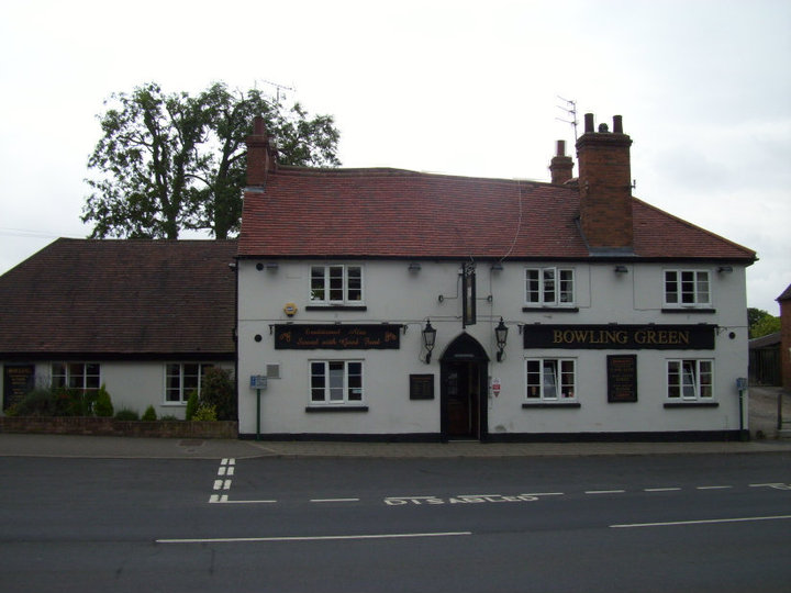 Photo of Bowling Green Inn, Southam | Image courtesy of Gary Stocker July 2010.