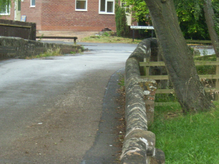 Photo of Brown's Bridge, Southam | Image courtesy of Gary Stocker July 2010.