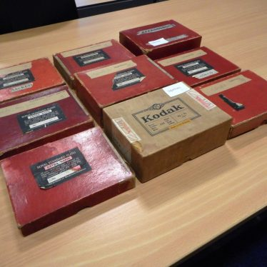 Original packaging for Clare Speight's glass plate negatives, Warwickshire County Record Office | Warwickshire County Record Office reference CR4453.