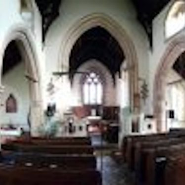 Photo of the interior of the Church of St Esprit, Marton | Image courtesy of Stephen MacDonald-Brown