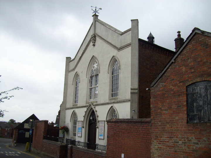 Photo of the Congregational Church, Southam | Image courtesy of Gary Stocker, July 2010.