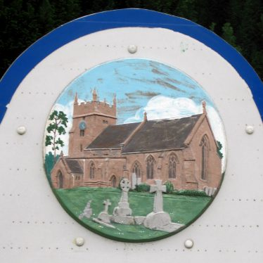 Cubbington Village Sign, and St. Mary's Church