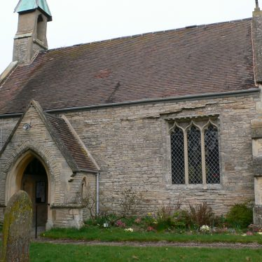 Exterior view of the Church of St Giles, Exhall, near Alcester: south side of the nave | Chris Pickford, 2011