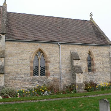 Exterior view of the Church of St Giles, Exhall, near Alcester, south side of the chancel | Chris Pickford, 2011