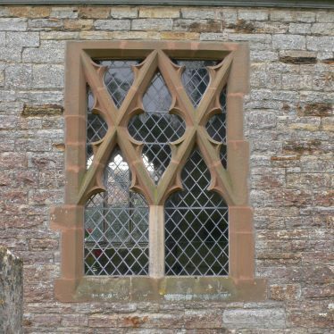 Church of St Giles, Exhall, near Alcester, showing unusual window tracery on north side of nave | Chris Pickford, 2011