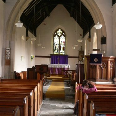 The interior of the Church of St Giles, Exhall, near Alcester, looking east | Chris Pickford, 2011