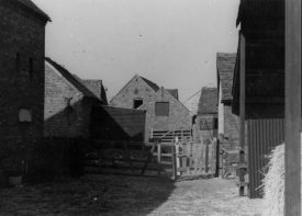 Hillcrest Farm outbuildings, Warton, c. 1951. | Image taken by Romilly Lunge, supplied by Chris Kirsten