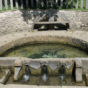 The Holy Well at Southam, partially covered | Image courtesy of L Caves