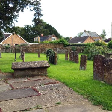 Graves at Church of St Mary, Middle Tysoe | Image courtesy of Irene Middleton