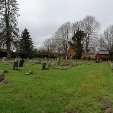 19th/20th century Cemetery by Oxhill Road