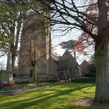 St Margaret's Church, Whitnash  | Image courtesy of Gary Stocker, April 2020