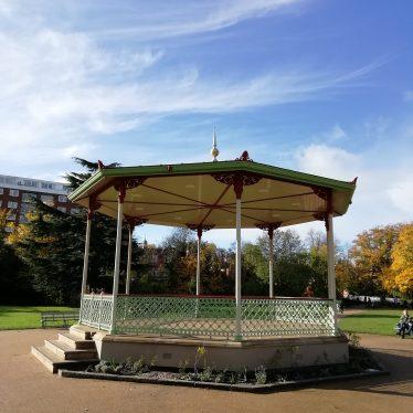 Pump Room gardens band stand, Leamington Spa | Image courtesy of Gary Stocker.