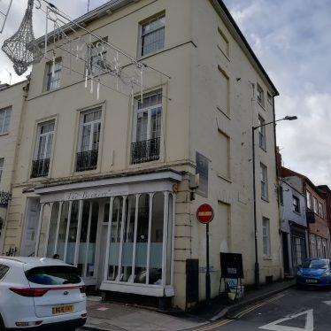 Site of Abbott's Baths, Bath Street, Leamington Spa
