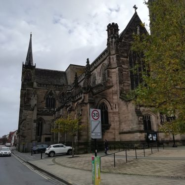Site of Medieval Church of All Saints, Leamington Spa.