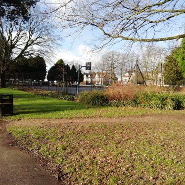 Christ Church garden, Beauchamp Square, Leamington Spa
