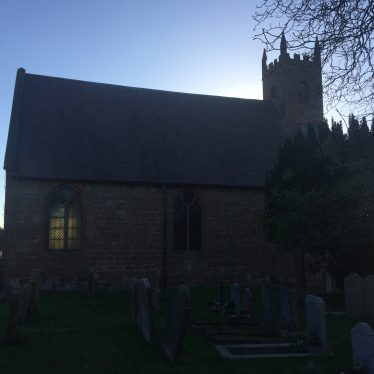 St Michael and All Saints Church Maxstoke, 17th January 2019. | Image courtesy of Nigel J