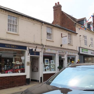Site of the Welsh Harp public house, Smith street, Warwick