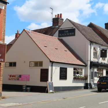 Black Horse public house, Long Street, Atherstone