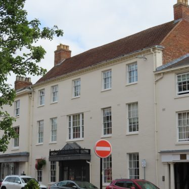Site of the Woolpack Commercial Inn and Hotel, Market Place, Warwick