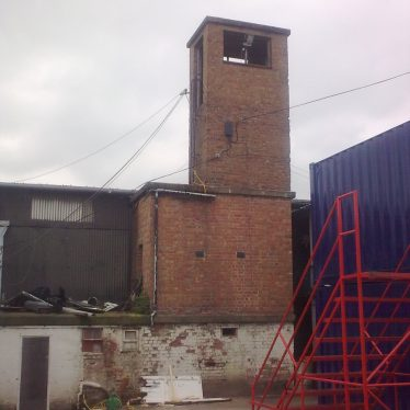 The lookout tower at RAF Leamington Spa, Whitnash   Image courtesy of Laurence French