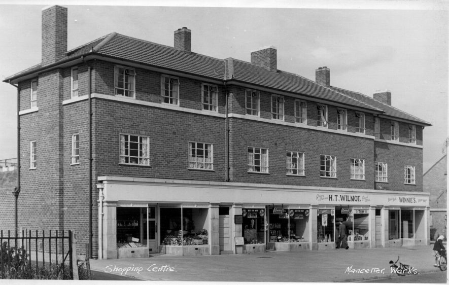Church Walk Shops, Mancetter | Photo courtesy of Friends of Atherstone Heritage