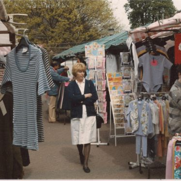 Market Square, Atherstone, 1990s | Image courtesy of Friends of Atherstone Heritage