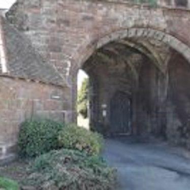Entrance to Maxstoke Priory | Image courtesy of Steven Graham