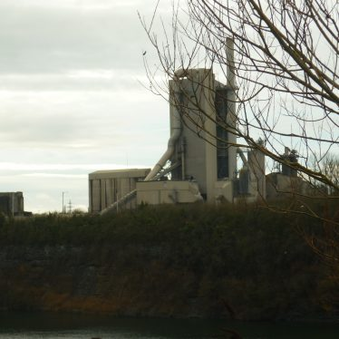Rugby Portland Cement Works, December 2018   Image courtesy of William Arnold